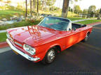 1962 Red Chevrolet Corvair