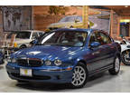 2003 Blue Jaguar X-Type