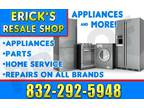 appliances for sale everyday...