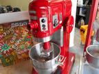 Hobart 60qt Red Mixer