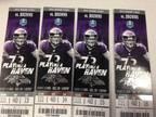 Ravens VS Browns End Zone