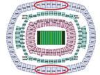 2 Tickets NY Giants v Washington Redskins 50 yard line Covered Sec:339 -