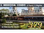 2 Disney Tickets with resort 4
