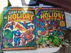 Marvel giant size holiday grab bag 1974 and 1976 -