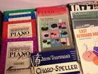 Music Books--Theory, Piano Instruction & Jazz Improv -