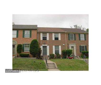 Town House For Rent at 22 Castlebar Ct in Lutherville MD is a Home