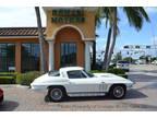 1965 White Chevrolet Corvette Stingray