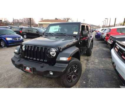 2019 Jeep Wrangler Unlimited Sport S is a Black 2019 Jeep Wrangler Unlimited Sport Car for Sale in Chicago IL