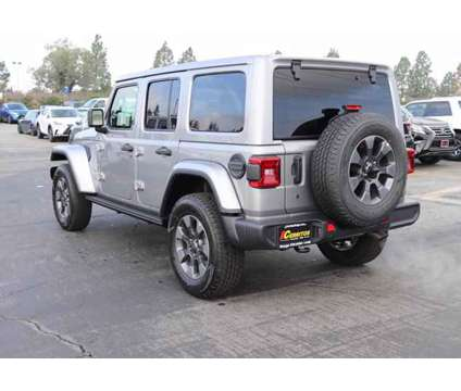 2019 Jeep Wrangler Unlimited Sahara is a Silver 2019 Jeep Wrangler Unlimited Sahara Car for Sale in Cerritos CA