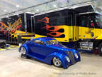 1937 Blue Ford 5 Window