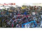 Huge used bicycle Sale tons to choose from TODAY -