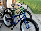 """Fat Tire Bicycles Beach Cruiser for Sale 4"""" Tires -"""