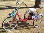 Trail Mate 3-wheeled bike with electric motor can deliver - $325 (Hutchinson)