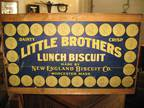 RARE* New England Biscuit Box!
