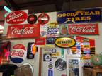 Red Barn Antiques & Collectibles ~ Porcelain Signs, Gas Pumps, Toys!!! -