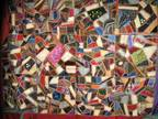 Antique Crazy Quilt..beautiful condition and colors -