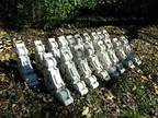C. 1880's Archiitecturial Items-Art Deco-Shabby Chic- Porcelain Signs! -