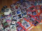 1100 Assorted Sports Trading Cards 1987-1995 EX-NM Condition