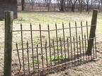 1800's Wrought Iron Fence 600