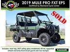2019 Kawasaki Mule PRO-FXT EPS PRO-FXT EPS