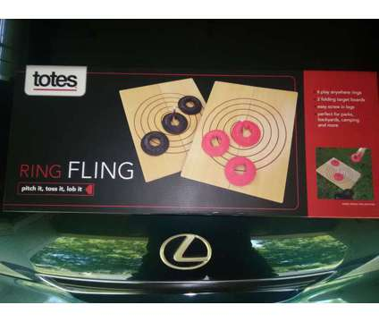 Ring Fling Toss Game is a Blue Other Sports & Fitnesses for Sale in Overland Park KS