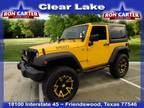 2015 Jeep Wrangler Yellow, 21K miles