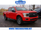 2019 Ford F-150 Red, new