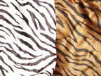 2 Animal Print Tote Bags
