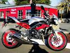2015 Triumph Street Triple Rx ABS Special Edition