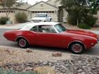 1968 Red Oldsmobile 442