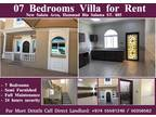 Seven BR Villa For Rent