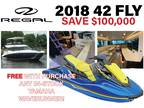 2018 Regal 42 Fly Boat for Sale