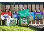 Recycled Feed Sack Tote Bags