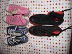 3 pairs of converse (Lubbock,