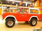 1971 Ford Bronco 302 4wd Manual Red