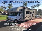 Buy from the owner - 2018 Thor Four Winds 28Z