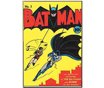 rare copy of batman comic no.1 in mint condition is a Other Ticket on Jan 17 in Brooklyn NY