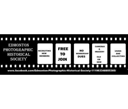 Camera / Photography Club … FREE … January 16, 2019 is a Announcements listing in Edmonton AB