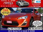 2013 Scion FR-S 10 Series Coupe 2D