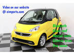 2015 Clear Flame Yellow smart fortwo electric drive