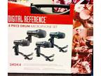 Digital Reference DRDK4 4-Piece Drum Mic Kit - Never Used -