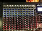 Peavey master 16fx 2 Behringer Amps , wires, rack for dj or band -