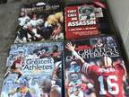 8 COLLECTIBLE BOOKS NFL COWBOYS STEELERS PACKERS priced to sell - $20 (MIDLAND
