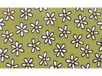 Apache Mills Daisies 20 in. x 30 in. Recycled Rubber Mat