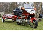 2001 Honda Gold Wing GL1800 Navigation Trailer Helmets Kuryakyn Chrome Accents