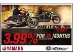 Make It Your Own Yamaha Star Motorcycle Today! - As Low As 3.99% APR