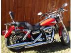 $12,500 Red 2010 Harley Super Glide Custom