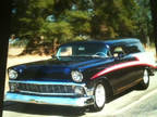 1956 Chevrolet Sedan Delivery Purple White, 5K miles