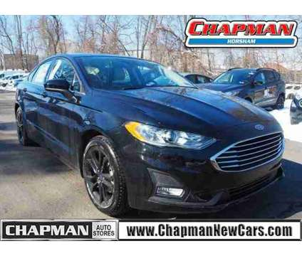 2019 Ford Fusion SE is a Black 2019 Ford Fusion SE Car for Sale in Horsham PA