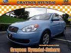 2011 Hyundai Accent 4 Dr Sedan GLS